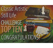 Classic Artistic Still Life Group: Top Ten Banner Photographic Print