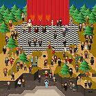 Super Twin Peaks by StudioStobie