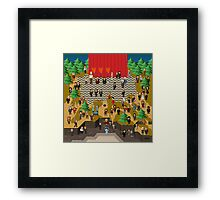 Super Twin Peaks Framed Print