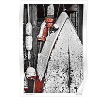 Boat & Buoys Poster