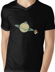 Space Heater Mens V-Neck T-Shirt