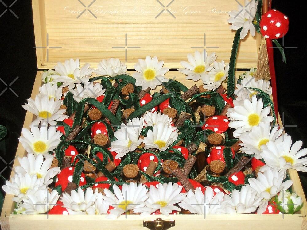 Treasure chest Pixie III Wedding favors & Handfasting by INma Gallego Gómez - Pastrana