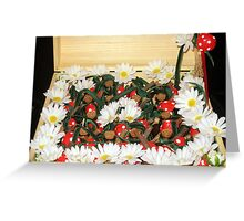 Treasure chest Pixie III Wedding favors & Handfasting Greeting Card