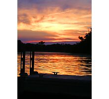 Boat Dock Photographic Print