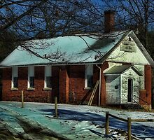 Abandoned house of God by vigor