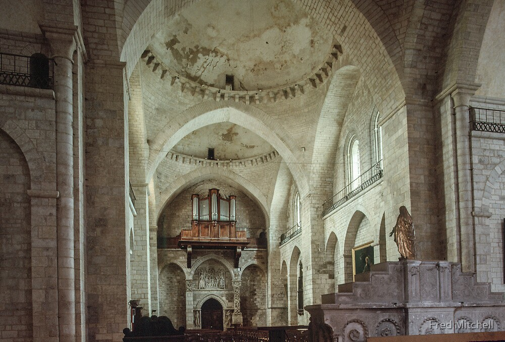 C17 reconstruction of Church Souillac 19840227 0048 by Fred Mitchell