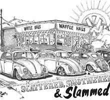 Waffle Haus .................. Scattered , Smothered & Slammed by bulldawgdude