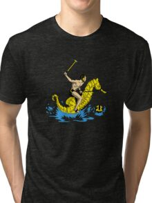 Real Water Polo Tri-blend T-Shirt