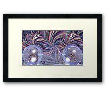 A Pinwheel Fandango Framed Print