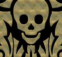 skull tattoo Sticker