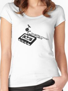 The Perks of Being a Minimal Wallflower Women's Fitted Scoop T-Shirt