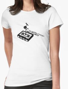 The Perks of Being a Minimal Wallflower Womens Fitted T-Shirt