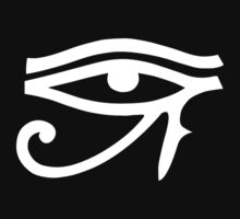 Eye of Horus (White) by cadellin