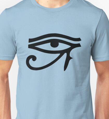 Eye of Horus (Black) Unisex T-Shirt