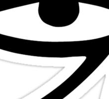 Eye of Horus (Black) Sticker