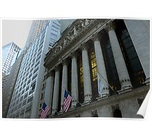 The New York Stock Exchange Poster