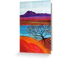 Pastel Art - Reaching Out Greeting Card