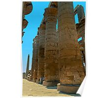 Great Hypostyle Hall, Karnak. Poster