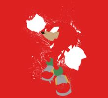 Knuckles Splattery Shirt by thedailyrobot