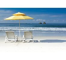 Relaxing in Costa Rica Photographic Print