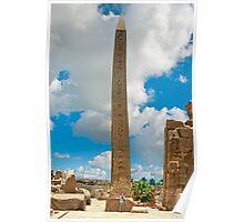 Obelisk of Hatshepsut. Poster