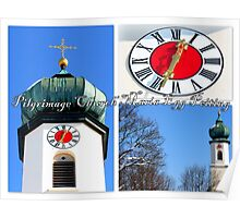Pilgrimage church Maria Egg Peiting Poster