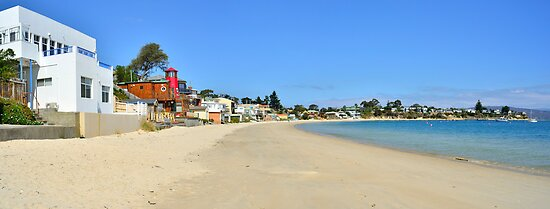 Main Rd - Opossum Bay - Tasmania by Anthony Davey