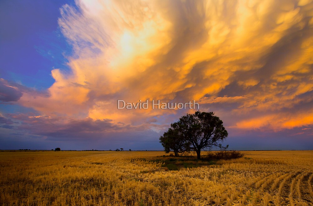 Heavens on fire by David Haworth