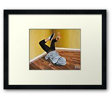 The Street Dancer Framed Print