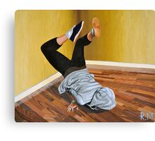 The Street Dancer Canvas Print