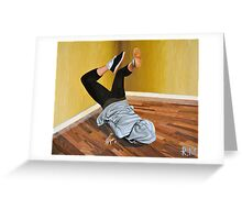 The Street Dancer Greeting Card