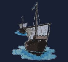 Medieval Trade Ship Cog by patjila