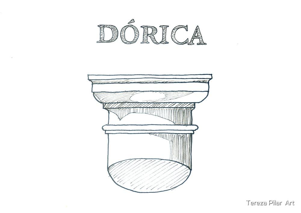 Ordem Dórica. Doric Order. by terezadelpilar ~ art & architecture
