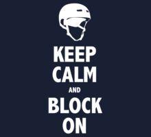 Block On Shirt by David & Kristine Masterson