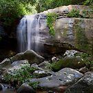 Serenity Falls Panorama by Greg Thomas