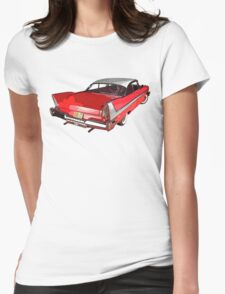 Christine - Plymouth Fury Womens Fitted T-Shirt