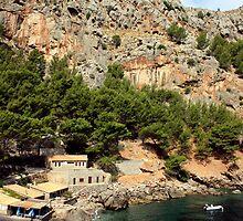 Sa Calobra, Mallorca by Wayne Gerard Trotman