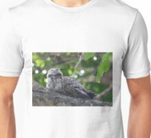 Guess Who Went Out On A Branch Unisex T-Shirt