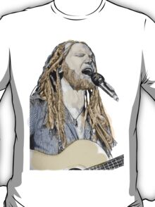 Newton Faulkner Drawing Tee (With a Splash of Colour!!) T-Shirt