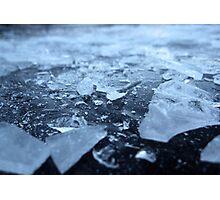 Broken Ice Photographic Print