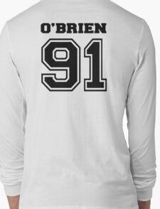O' brien 91 dylan O'brien stilinski - BLACK Long Sleeve T-Shirt