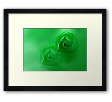 green dream Framed Print