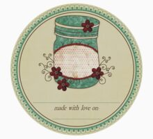 "Gram's Jams ""Made With Love"" Label by KustomByKris"
