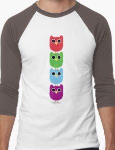 Owl Buddies Men's Baseball ¾ T-Shirt