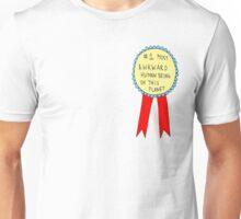 Badge for Awkwardness Unisex T-Shirt