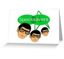 Spocksavers Greeting Card