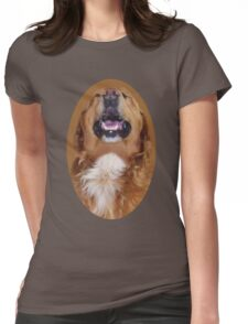 ✌☮I'M LAUGHTING LIKE NOBODYS LOOKIN DOG TEE SHIRT ✌☮  Womens Fitted T-Shirt