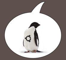 """Ubuntu"" Penguin tattoo Kids Clothes"