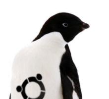 """""""Ubuntu"""" Penguin tattoo Sticker"""