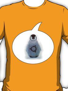 """Ubuntu"" Baby penguin tattoo T-Shirt"